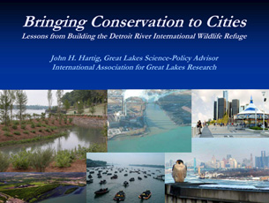 cover page of presentation on bringing conservation to cities
