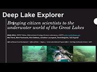 cover page of Deep Lake Explorer presentation