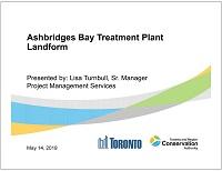cover page of Ashbridges Bay Treatment Plant Landform