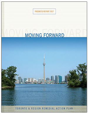 cover of Toronto RAP 2007 progress report