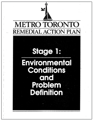 cover page of environmental conditions and problem definition report