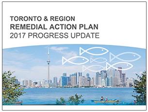 cover page of Toronto RAP 2017 progress update